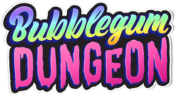Bubblegum Dungeon series logo